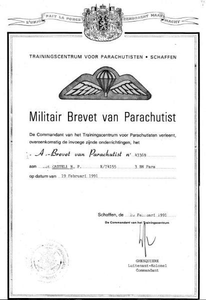 pathfinder parachuting certificates